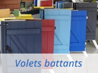 Volets battants